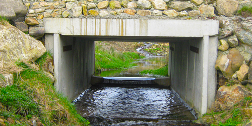 box culvert river
